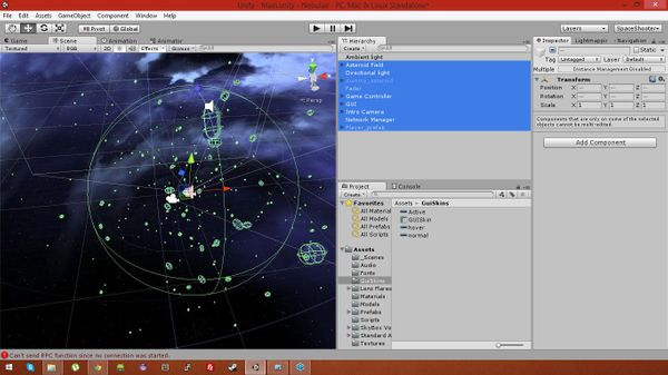 Having fun with the Unity game engine